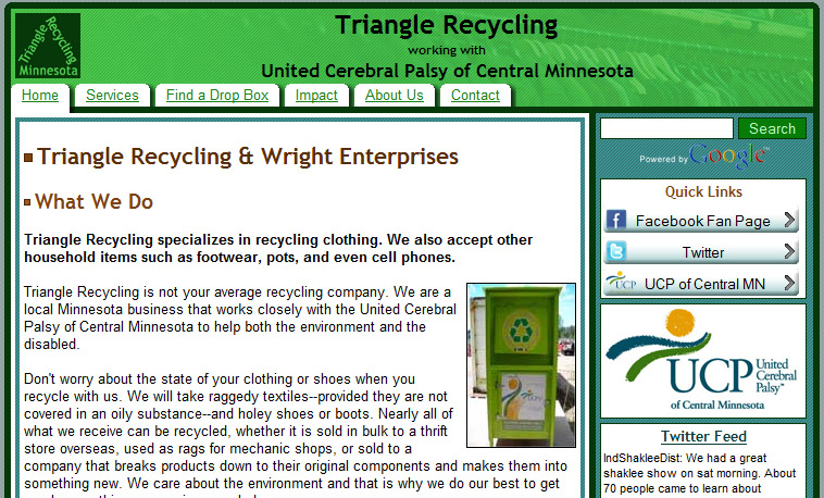 Triangle Recycling